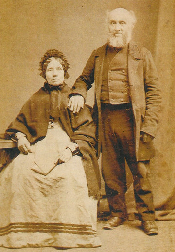 John Howe Barrow and his wife Agnes