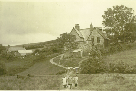 Challacombe School - now a private residence